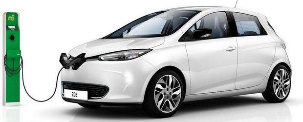 Renault Zoe va costa 20.700 de euro
