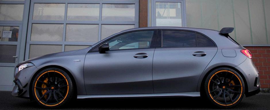 Renntech a tunat noul Mercedes-AMG A45. Nemtii au stors 601 CP din motorul cu patru cilindri
