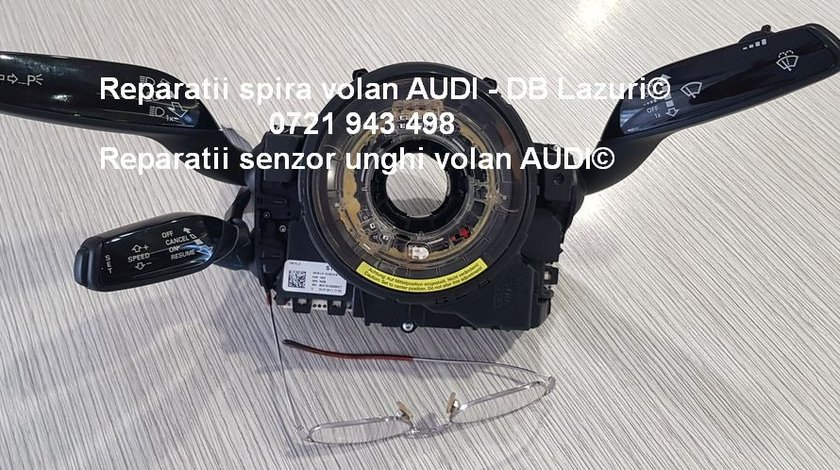 Repar spira volan si senzor unghi volan Audi A8