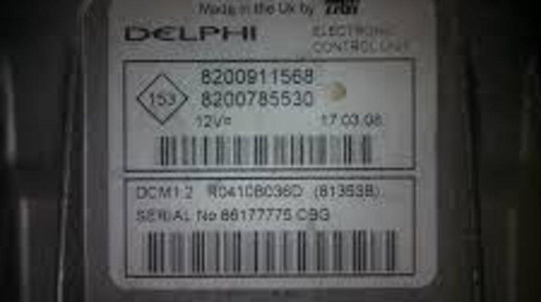 Reparam calculatoare motor/ECU pentru Dacia si Renault
