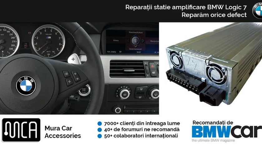 Reparatie amplificator BMW TOP HIFI (Logic 7) | 12 luni garantie
