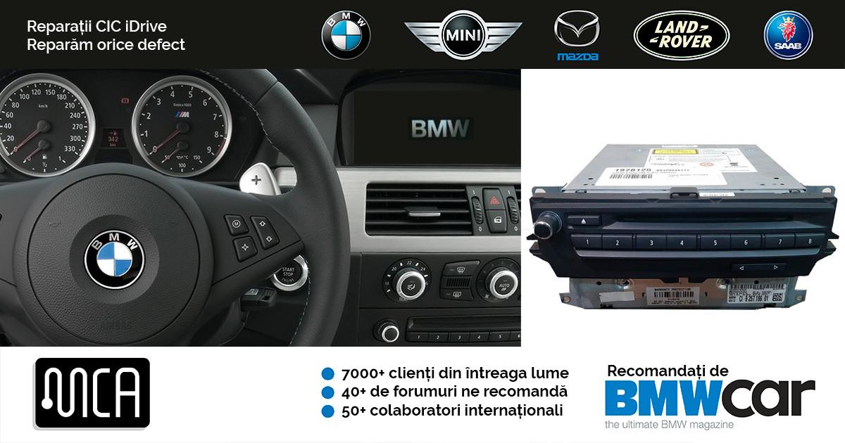 Reparatie navigatie BMW iDrive CIC   1 an garantie   Diagnoza gratuita