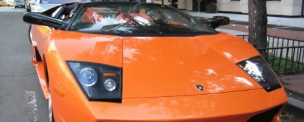 Replica bizara de LP640 Roadster surprinsa in New York