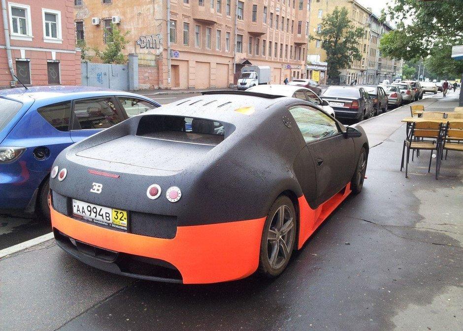 Replica Bugatti Veyron WRE in Rusia