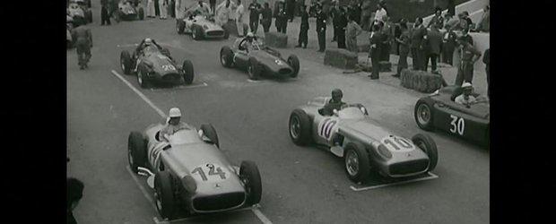 Reportajul din 1955 a etapei de GP din Belgia: video istoric