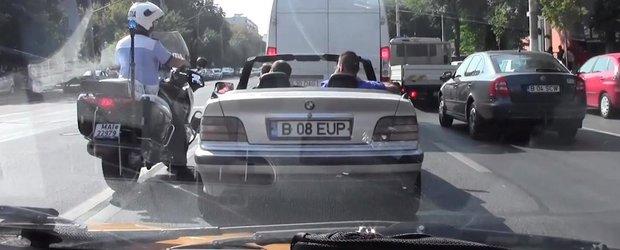 Respect Politiei Rutiere din Bucuresti! Inca o actiune filmata 'undercover'