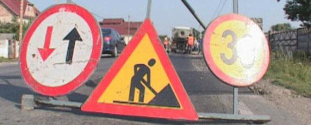 Restrictii de circulatie in Drumul Taberei
