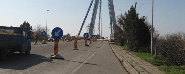 Restrictii de circulatie pe DN 39, in zona Agigea