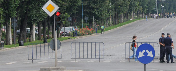 Restrictii de trafic pe Soseaua Kiseleff