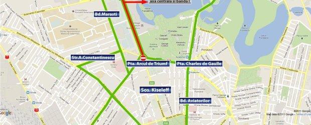 Restrictii rutiere pentru ziua de 1 Decembrie 2012