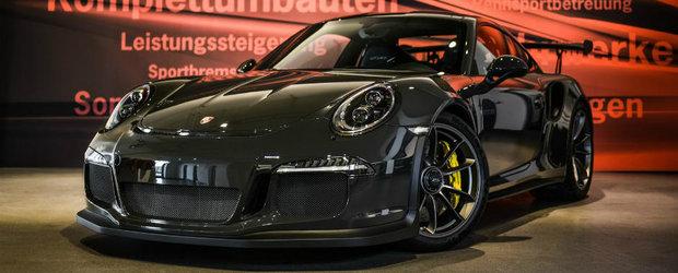 Reteta celor de la Edo Competition pentru Porsche-ul 911 GT3 RS implica carbon. Foarte mult carbon