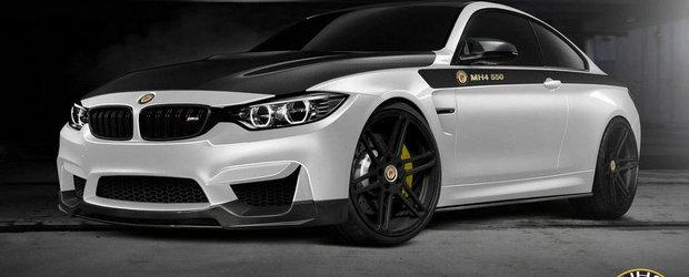 Reteta Manhart pentru BMW M4: 550 CP, plus accesorii din fibra de carbon