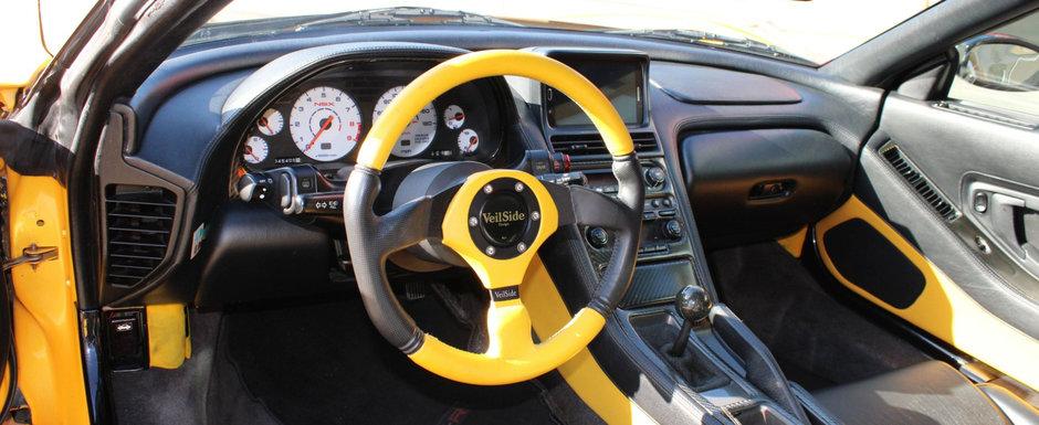 Retraieste nebunia anilor 2000 la volanul acestui NSX modificat ca in Fast and Furious: Tokyo Drift