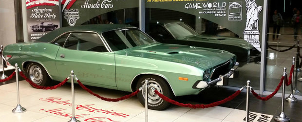 Retro American Muscle Cars, in acest week-end la Bucuresti Mall!