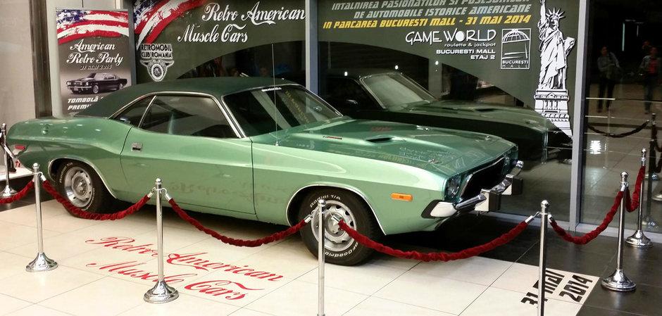 Retro American Muscle Cars, in acest week-end la Bucuresti Mall!