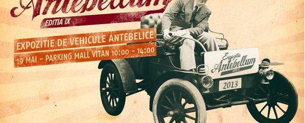 Retromobil Club Romania prezinta masini istorice fabricate inainte de 1945 la Antebellum