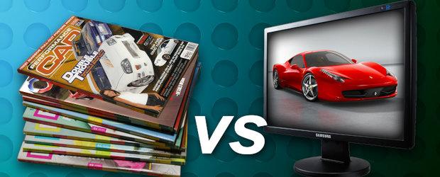 Reviste vs. site-uri auto - care este cel mai eficient mijloc de comunicare pentru pasionati?