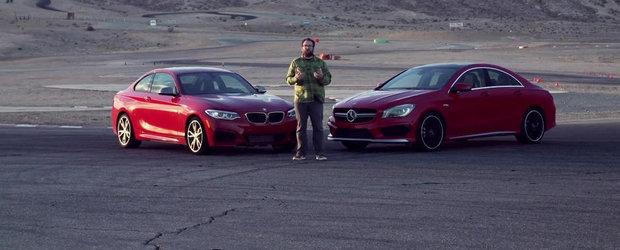 Revolutie in clasa compacta: BMW M235i versus Mercedes CLA45 AMG