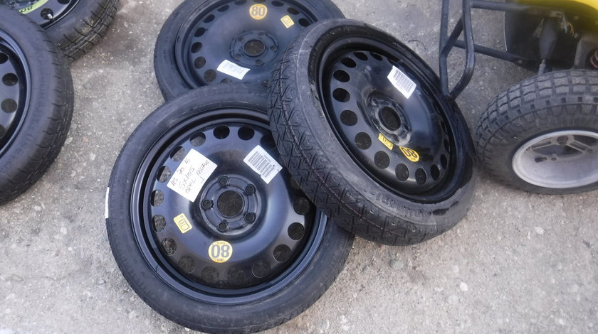 Rezerva ingusta Slim Opel Astra K ,J 5X105  115 -70-16