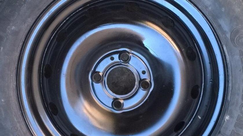 Rezerva LOGAN, Sandero, Renault Megane, pe R15 - janta tabla+anvelopa 185/65/15