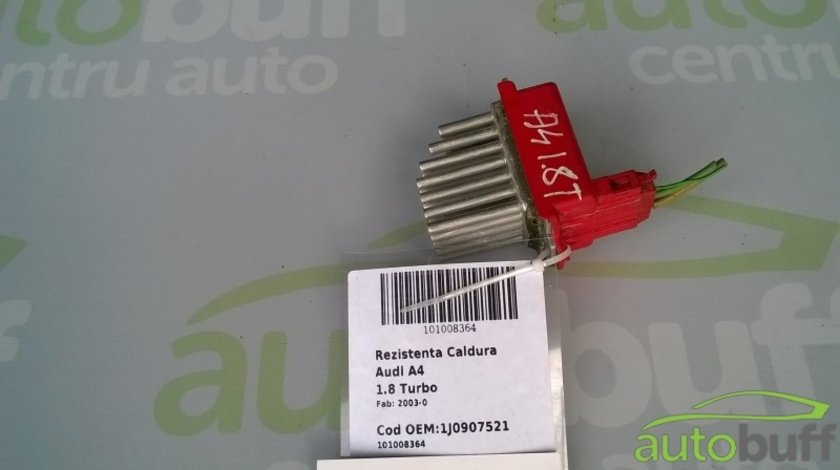 Rezistenta Caldura Audi A4 B5 (8D) - (1994-2001) 1.8 Turbo 1J0907521
