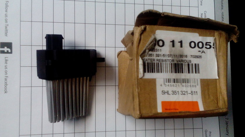 Rezistenta suplimentara climatronic BMW E 39 si X5