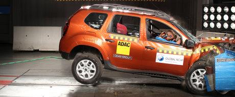 Rezultat dezastruos pentru Duster la testele Global NCAP. Specialistii i-au acordat 0 stele