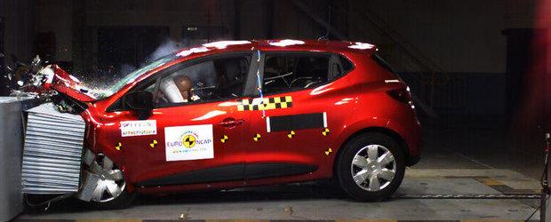 Rezultate Euro NCAP: Cinci stele pentru cinci noi modele
