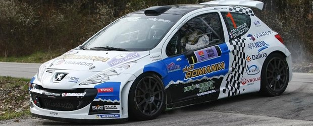 Rezultatele de la Timis Rally, anuntate de Klar Professional