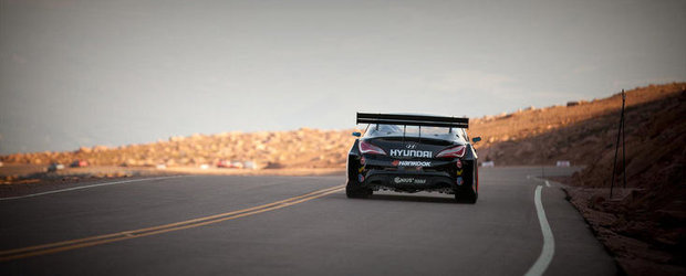 Rhys Millen si Hyundai Genesis Coupe, record absolut la Pikes Peak! UPDATE VIDEO!