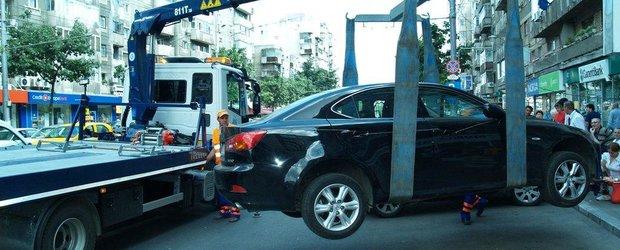 Ridicare masinilor se va putea face doar daca acestea incurca traficul