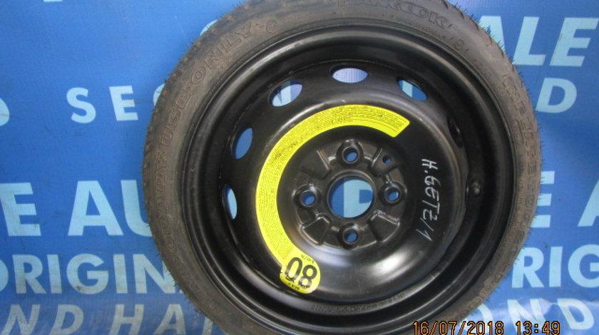 Roata rezerva Hyundai Getz (R14; 4x100; 105/70; ET 46)