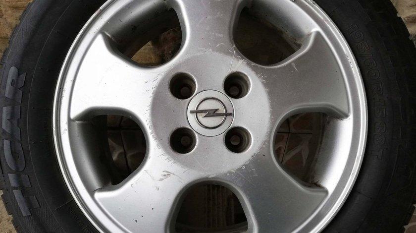 Roata rezerva / Janta / 3 Jante aliaj Opel 15 4x100 Astra, Vectra, Corsa, Combo – Originale