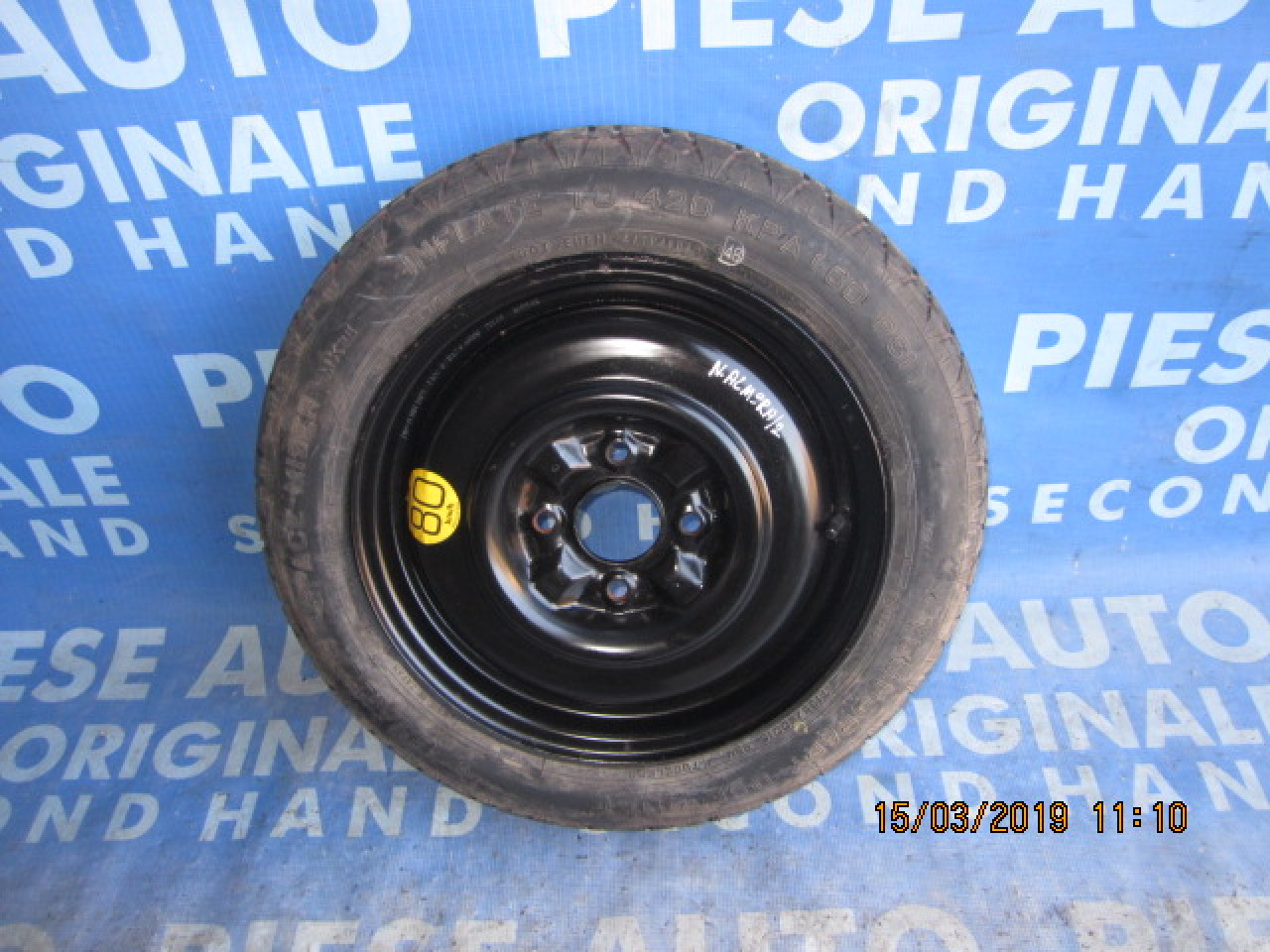Roata rezerva Nissan Almera (R15)