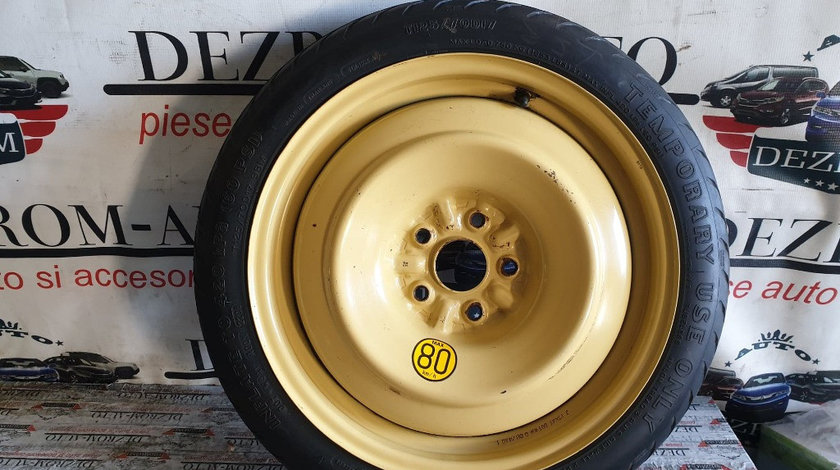 """Roata rezerva slim 17"""" T125/70/D17 5x114.3 originala Toyota Auris II Touring Sports"""