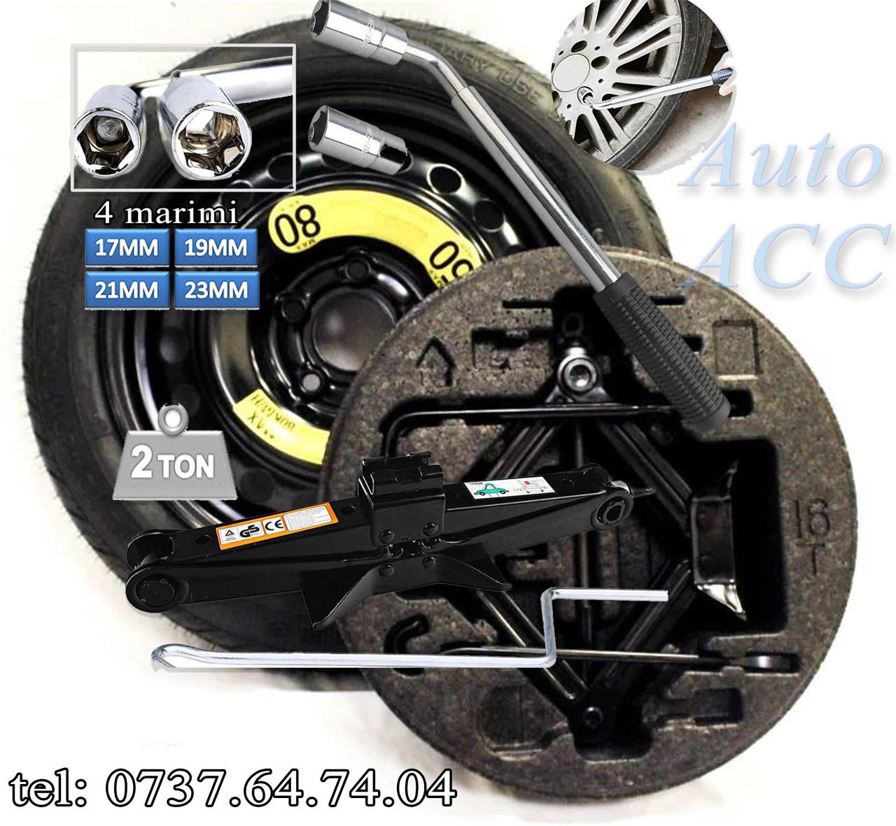 Roata rezerva slim Audi A4 B8, B9 / A5 – 155 70 17