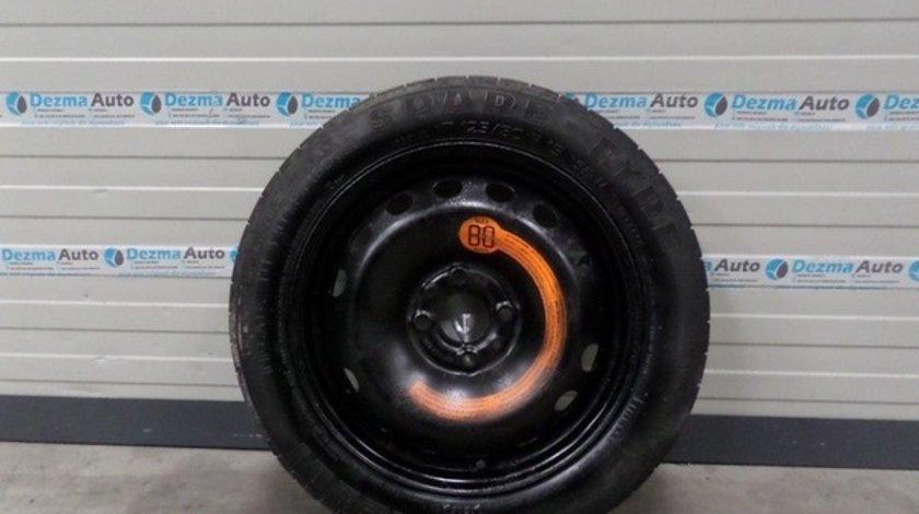 Roata rezerva slim Fiat Doblo (119) 2001-2009, 125, 80, R15