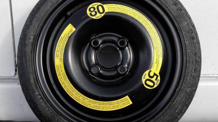 Roata Rezerva Slim / Ingusta 115 / 70 R 15 VW 4x100 Volkswagen Up, Polo, Golf 3, Passat B4, Caddy 1