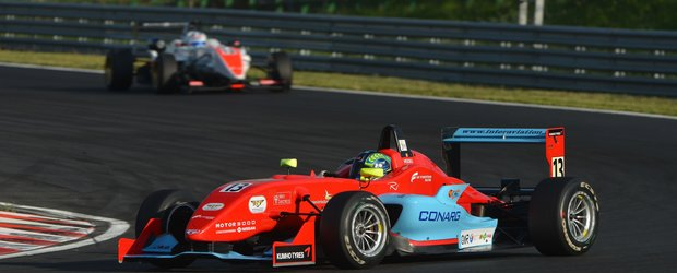 Robert Visoiu revine in Formula 3 Italia