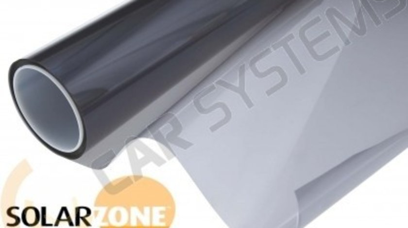 Rola folie geamuri auto omologata Profesionala SolarZone 30M x 1.5M + ( 24 omologari ) transparenta 35%