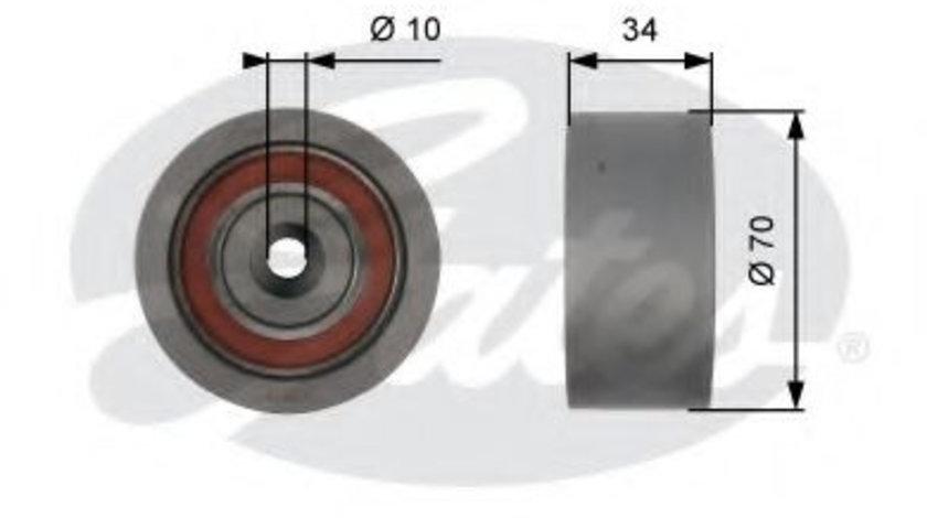 Rola ghidare/conducere, curea distributie VW PASSAT (3B3) (2000 - 2005) GATES T42159 piesa NOUA