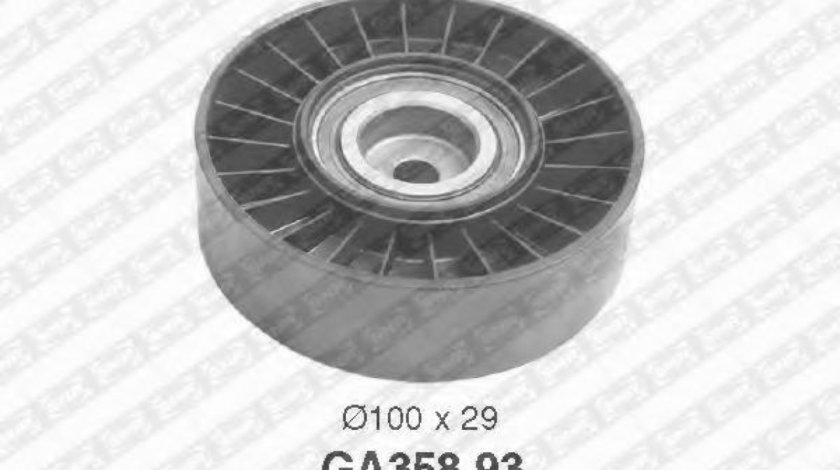 Rola ghidare/conducere, curea transmisie ALFA ROMEO 146 (930) (1994 - 2001) SNR GA358.93 produs NOU