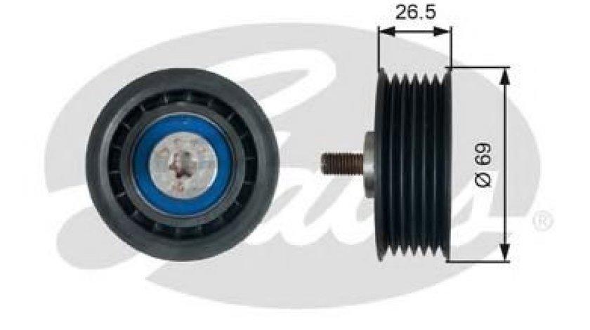 Rola ghidare/conducere, curea transmisie AUDI A5 Sportback (8TA) (2009 - 2016) GATES T38099 - produs NOU