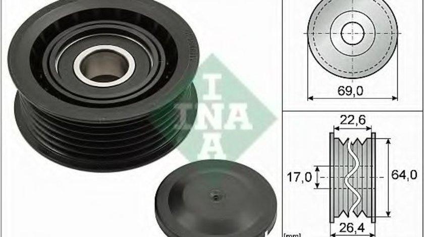 Rola ghidare/conducere, curea transmisie AUDI Q7 (4L) (2006 - 2015) INA 532 0160 10 piesa NOUA