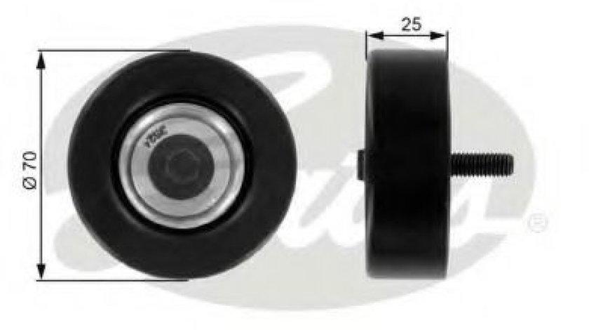 Rola ghidare/conducere, curea transmisie FORD KA (RB) (1996 - 2008) GATES T36175 piesa NOUA
