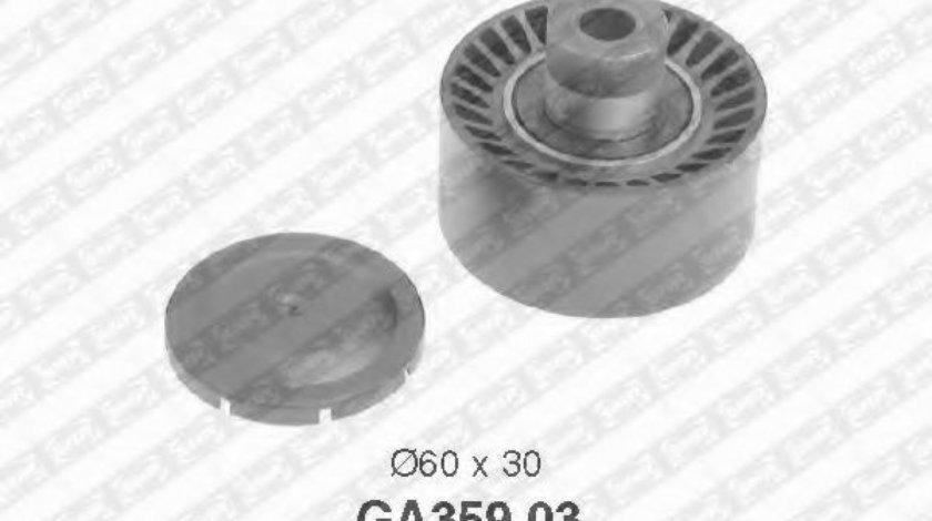 Rola ghidare/conducere, curea transmisie FORD FUSION (JU) (2002 - 2012) SNR GA359.03 produs NOU