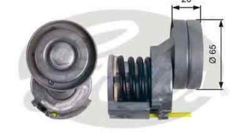 rola intinzator curea alternator AUDI A3 Cabriolet (8P7) GATES T39023