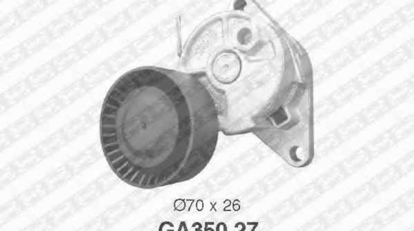 Rola intinzator curea alternator BMW 5 E39 SNR GA350.27