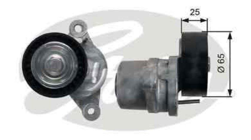 rola intinzator curea alternator CITROËN DS3 GATES T39189
