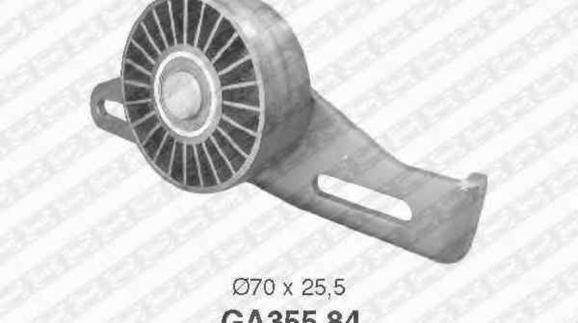 rola intinzator curea alternator DACIA LOGAN pick-up US SNR GA355.84